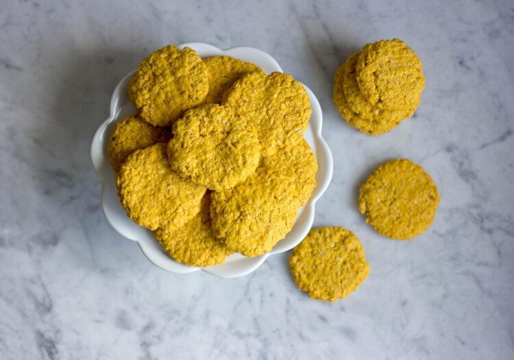 Owsiane ciasteczka marchewkowe - Krok 6
