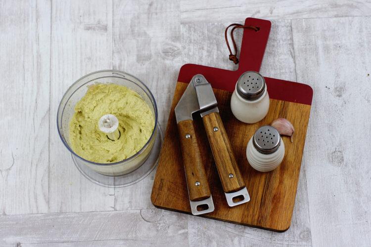 Hummus z awokado - Krok 3