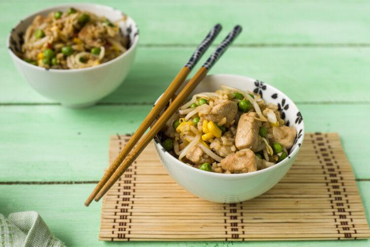 Ryż smażony z indykiem i kukurydzą - Krok 5