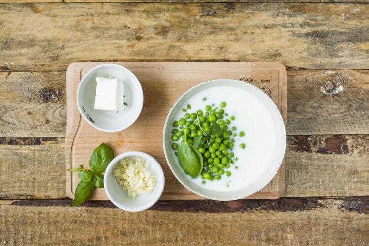 Chłodnik z zielonego groszku - Krok 3