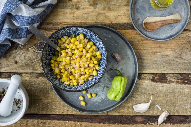 Masala z kukurydzy - Krok 4