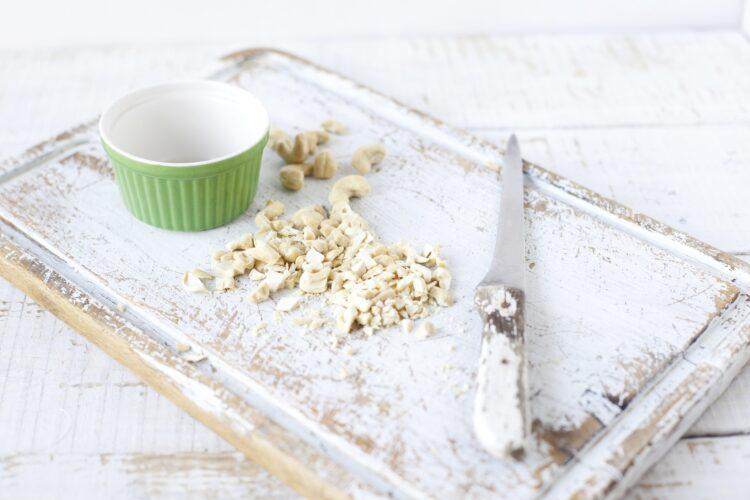 Krem z zielonego groszku gotowanego na parze - Krok 1