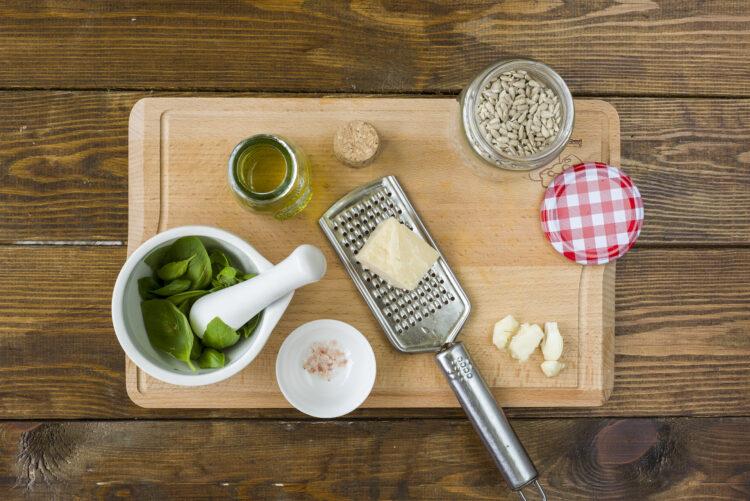 Warzywa w sosie bazyliowym - Krok 2