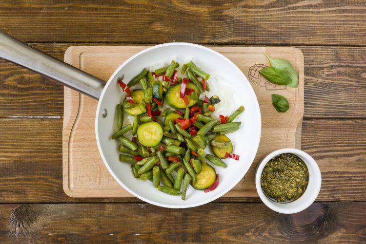 Warzywa w sosie bazyliowym - Krok 4