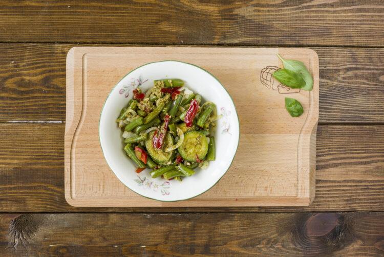 Warzywa w sosie bazyliowym - Krok 6