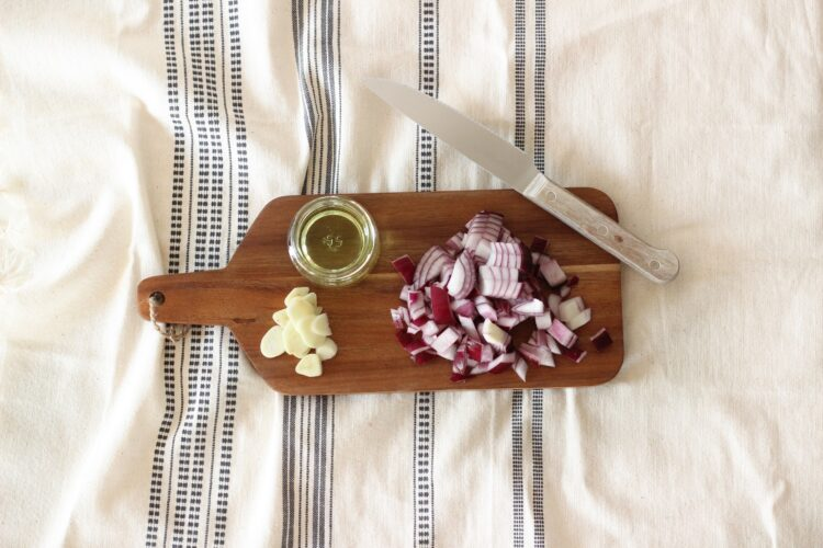 Gulasz wegetariański - Krok 1