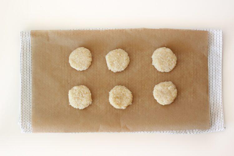 Ciasteczka kokosowe z białą fasolą - Krok 4
