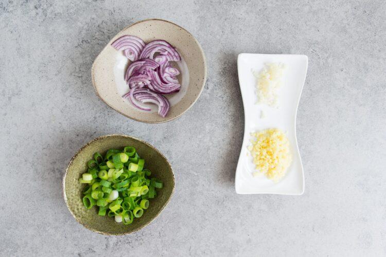 Soba z warzywami po azjatycku - Krok 1