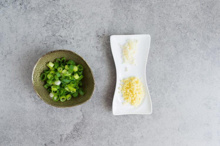 Omlet z warzywami  po azjatycku - Krok 1