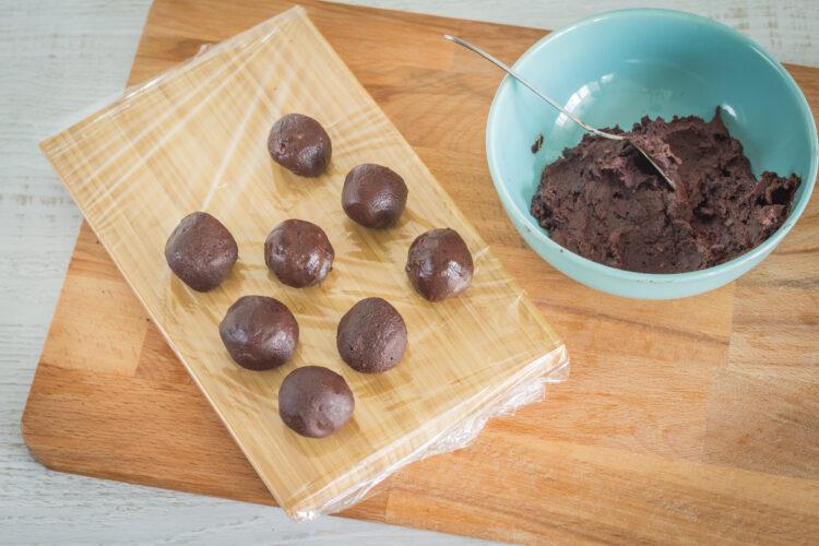 Trufle czekoladowe z czerwonej fasoli - Krok 2