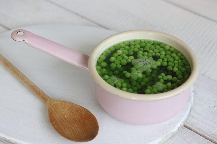 Pasztet wegetariański z zielonym groszkiem - Krok 3