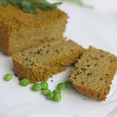 Pasztet wegetariański z zielonym groszkiem