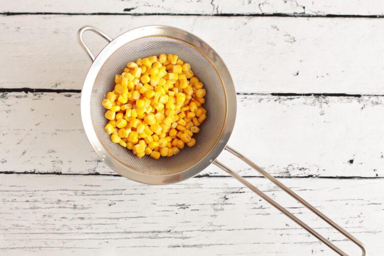 Placki jaglane z porem i kukurydzą - Krok 2