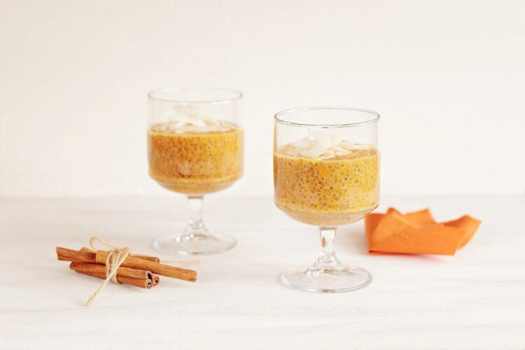 Marchewkowy pudding chia - Krok 4