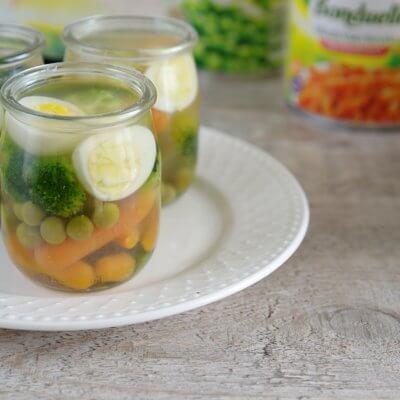 Galaretki warzywne