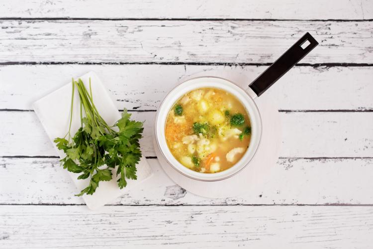Pożywna zupa jarzynowa - Krok 4