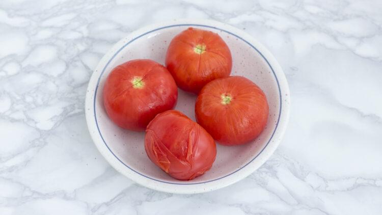 Grillowany ser halloumi na   ratatouille z miksem warzyw - Krok 3