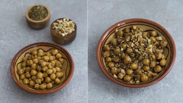 Hummus z buraków z chrupiącą cieciorką - Krok 2