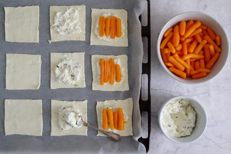 Tartaletki z marchewkami - Krok 3