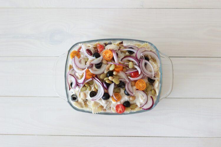 Zapiekanka makaronowa z tuńczykiem - Krok 5
