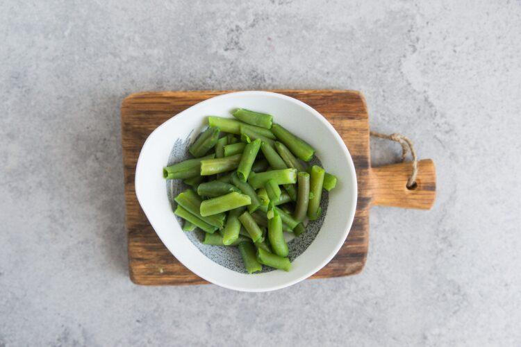 Kuskus z zielonymi warzywami - Krok 2