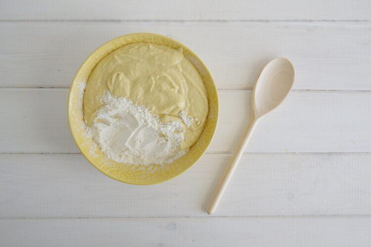 Cytrynowe ciasto z ciecierzycy - Krok 4
