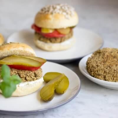 Marokańskie burgery z soczewicy