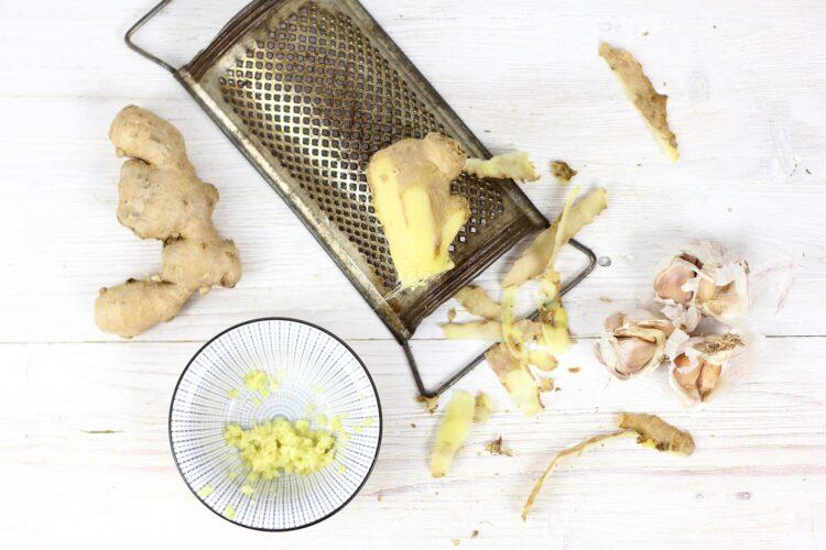 Azjatycka sałatka z kiełkami - Krok 1