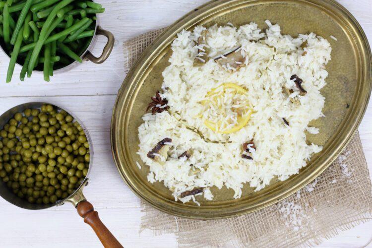 Korzenny ryż z fasolką szparagową - Krok 4