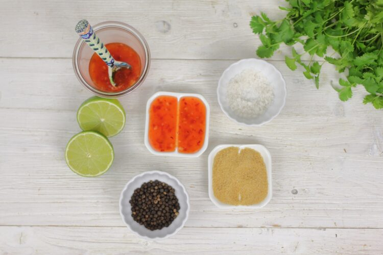 Kukurydziana salsa - Krok 4