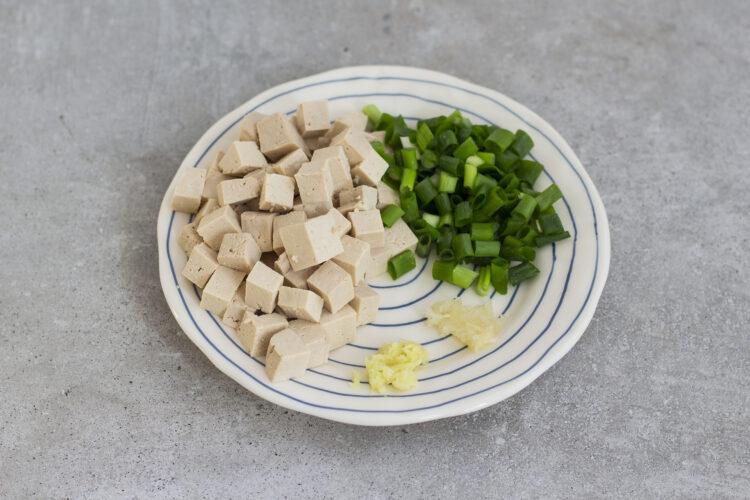 Stir-fry z warzywami, tofu i orzechami nerkowca - Krok 1