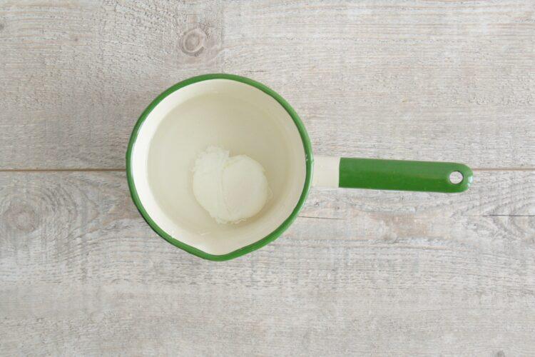 Śniadaniowe placuszki z kukurydzy z jajkiem w koszulce - Krok 4