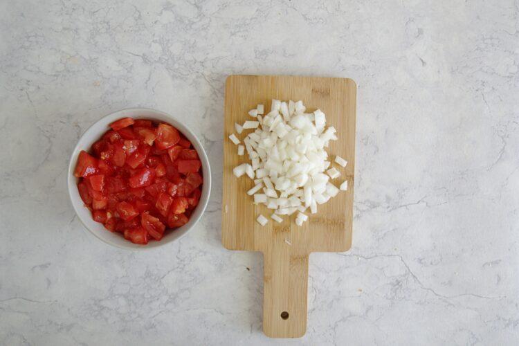 Pieczone letnie warzywa z ciecierzycą - Krok 3