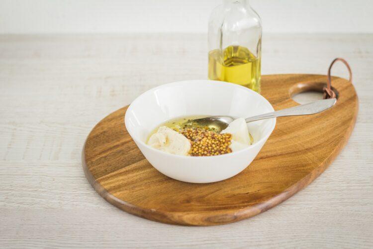 Sałatka ziemniaczana z brokułem i groszkiem - Krok 3