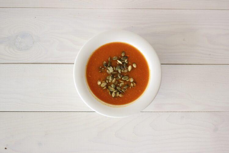 Krem dyniowo-marchewkowy z pomarańczową nutą - Krok 4