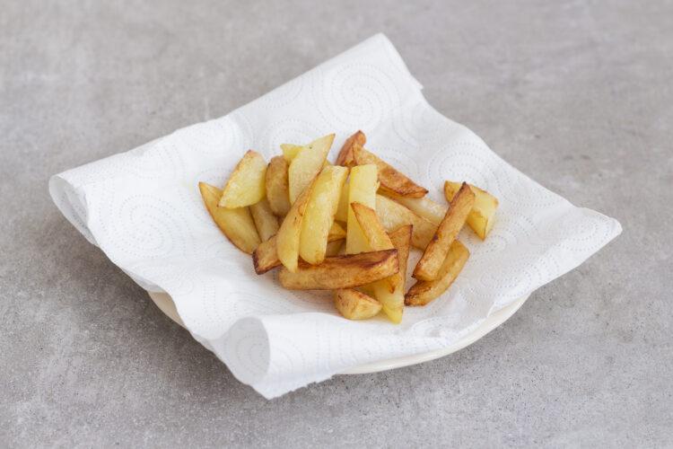 Fish & chips z dorsza na purée z groszku zielonego - Krok 4