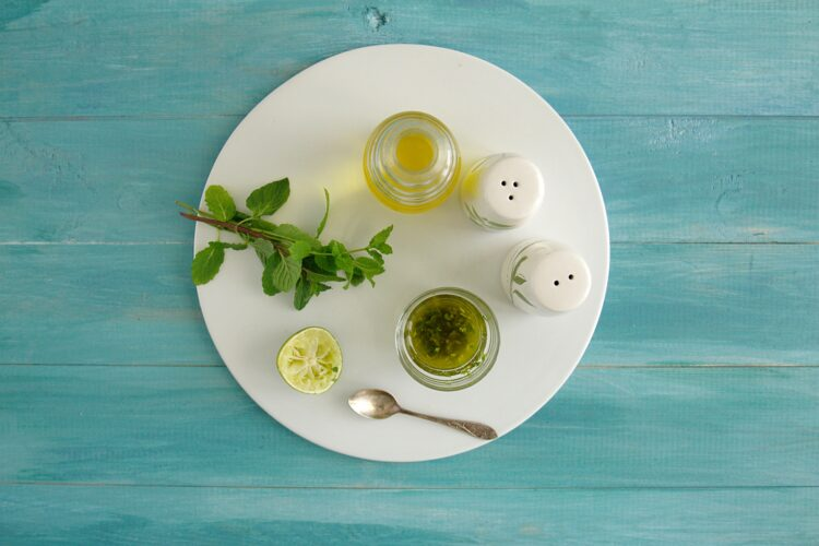Orzeźwiająca sałatka z arbuzem, ogórkiem i cieciorką - Krok 2