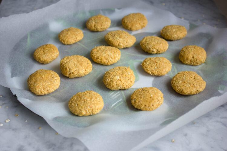 Owsiane ciasteczka marchewkowe - Krok 5