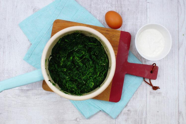 Tartaletki ze szpinakiem i gorgonzolą - Krok 2