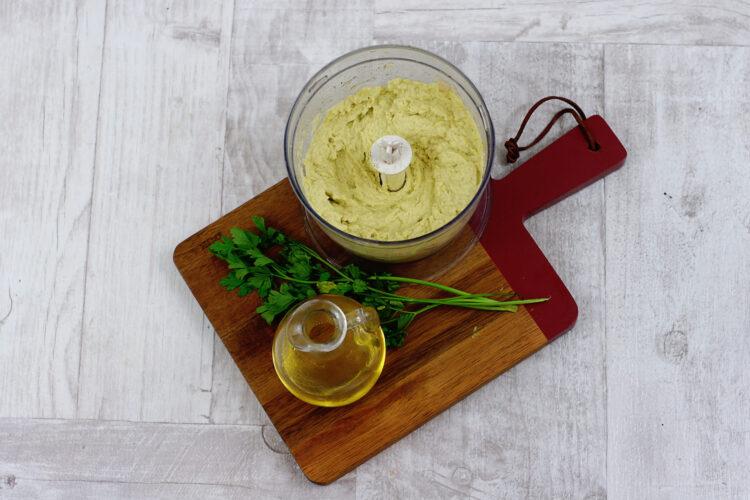 Hummus z awokado - Krok 4