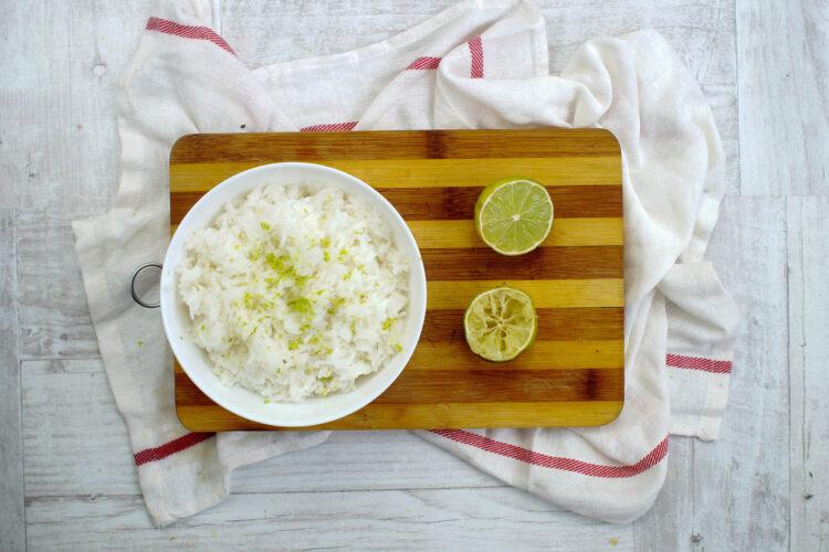Burrito z limonkowym ryżem - Krok 3