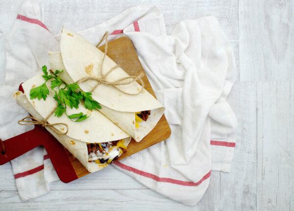 Burrito z limonkowym ryżem - Krok 5