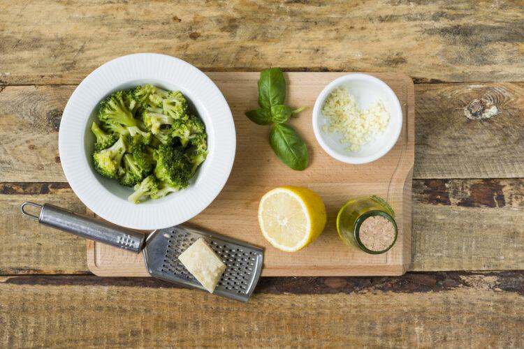DSC_2292Makaron w sosie brokułowym - Krok 2