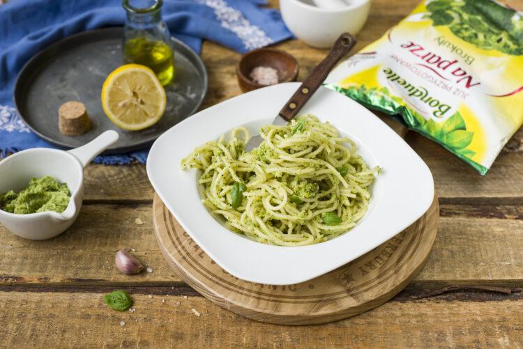 Makaron w sosie brokułowym - Krok 5