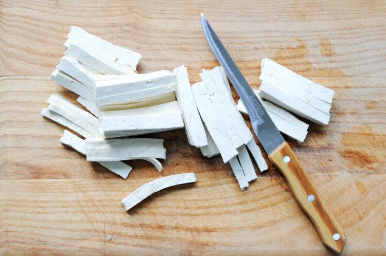 Sajgonki z tofu i kiełkami fasoli mung - Krok 1