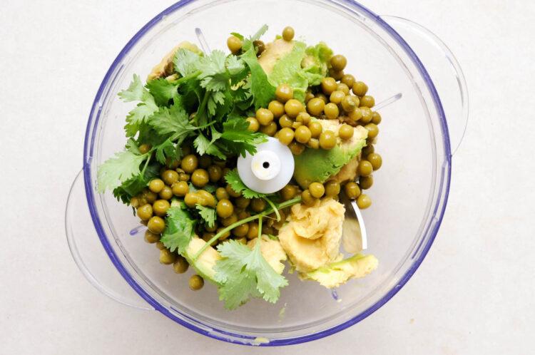Guacamole z groszkiem - Krok 2
