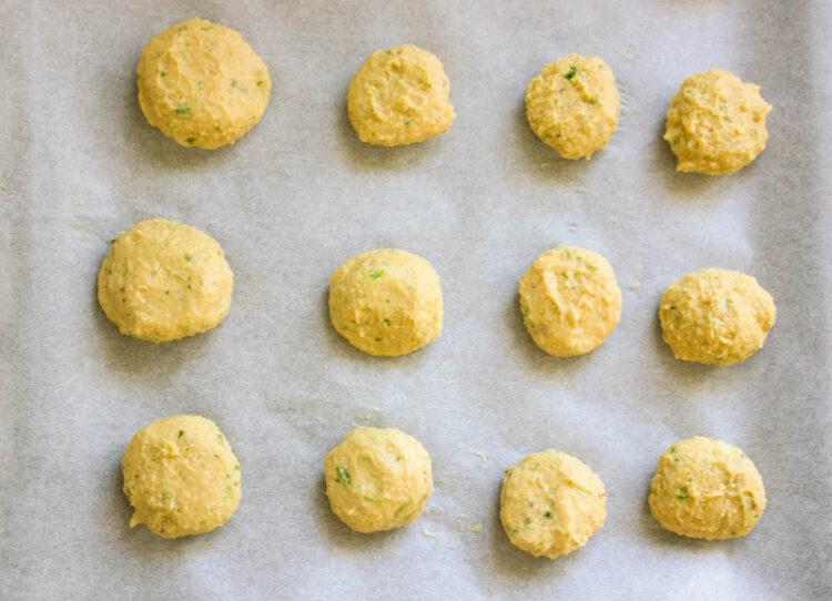 Pieczone falafele - Krok 3
