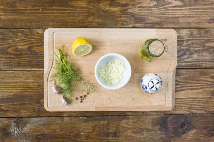 Pasta z fasoli i groszku - Krok 1