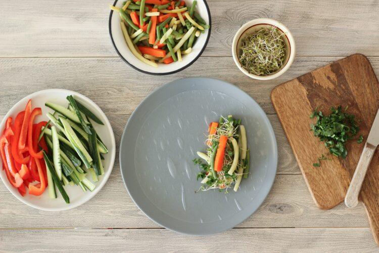 Sajgonki warzywne - Krok 2