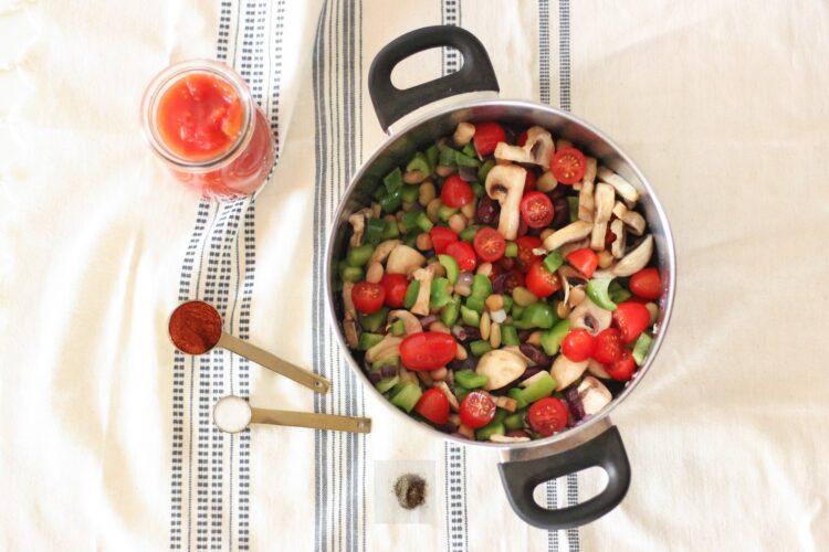 Gulasz wegetariański - Krok 3